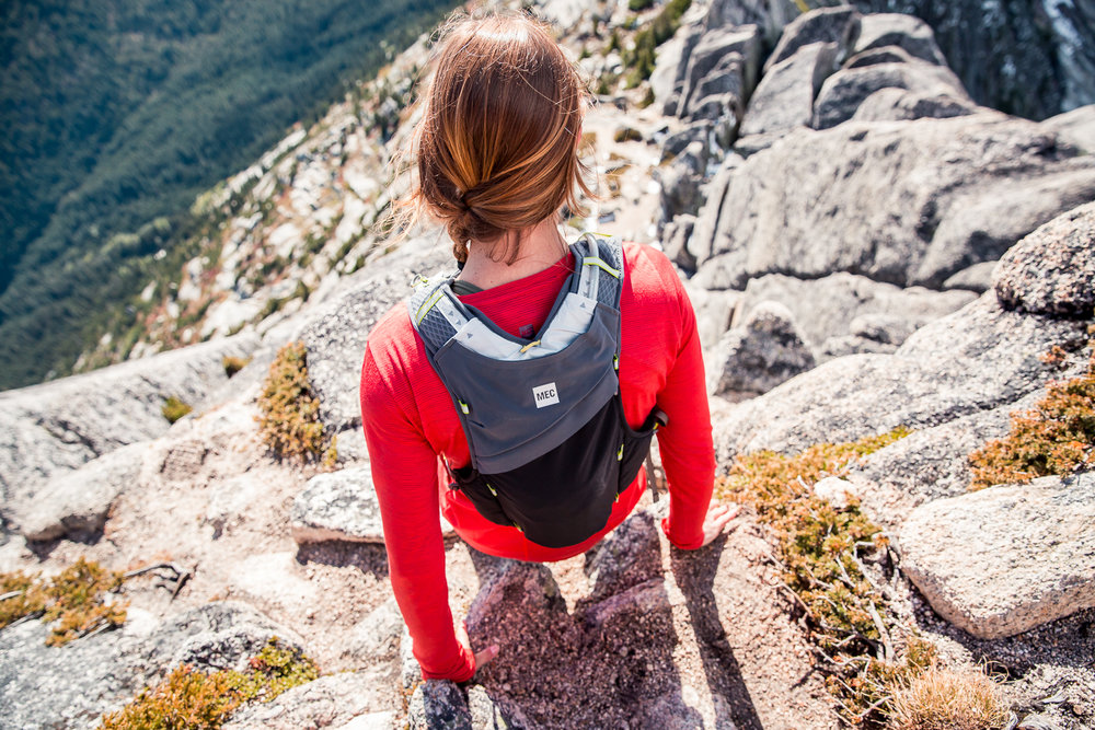 What goes up, must come down. So many mountain rescues happen because people forget that its often harder (and much scarier) coming down steep terrain. Don't be that person. Play within your limits!