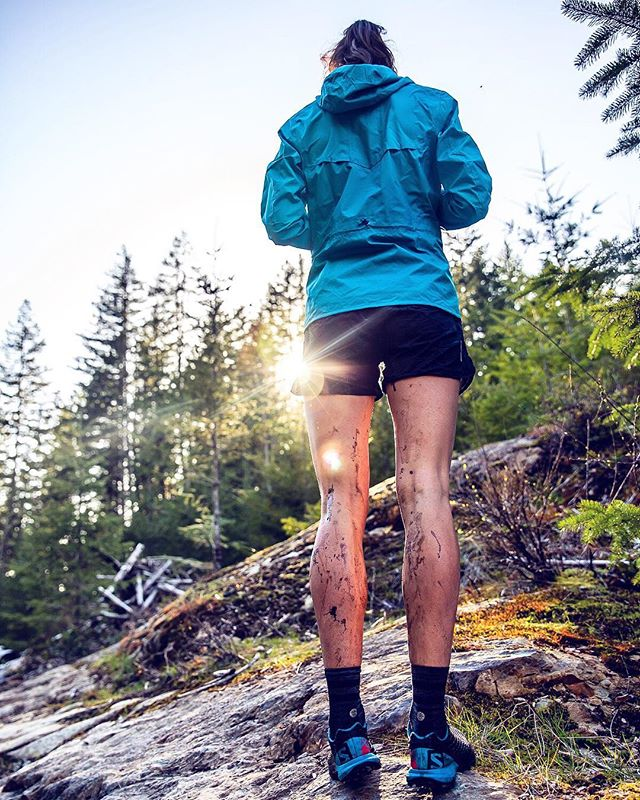 """Trail running — let's be honest, it's basically just an excuse to jump in all the puddles, and eat junk food for breakfast (and lunch, and dinner). No wonder the sport is growing so rapidly🤣. Also, it fits really nicely into my """"never going to grow up"""" plan, so I'm a big fan. Funny how the older we get, the less we are interested in acting our age, eh? The rest of the world is like: """"Buy a house! Get married! Have a baby! Save for your retirement!"""" ...and I'm over here like: today I shall jump in this puddle, and then I will take a nap while cuddling a giant bag of chips, and then eat cereal for dinner.  Happy Friday, my fun-loving, frolicking friends! Go chase that dirt."""