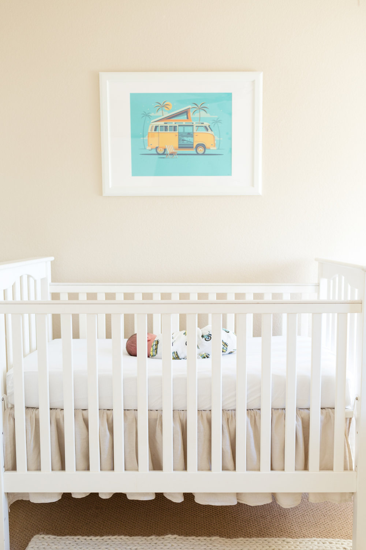 San Diego Lifestyle Newborn Photographer Christine Dammann Photography baby in crib
