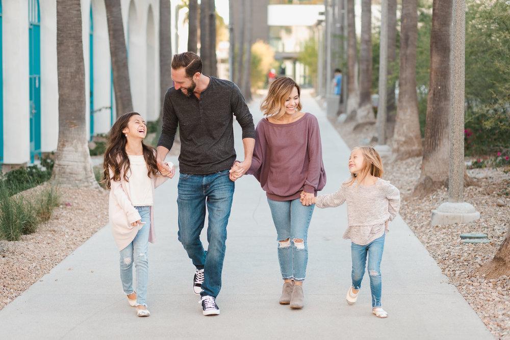 Family at SDSU