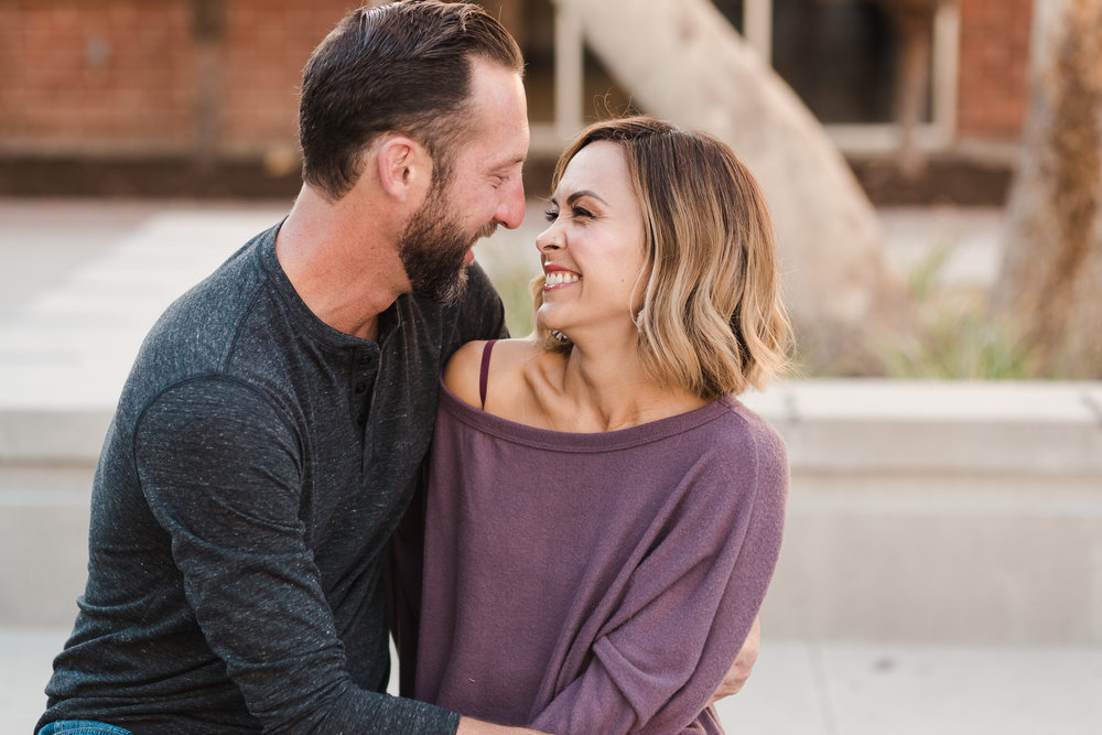 Couple in Love at San Diego State