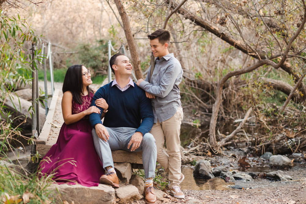 Family photos at Los Penasquitos Canyon Preserve | San Diego Family Photographer Christine Dammann