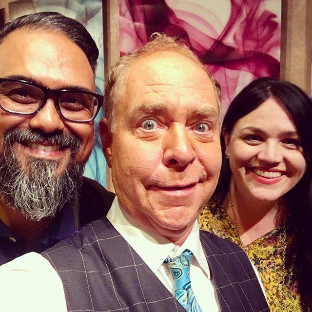 Had a blast tonight in Vegas celebrating David's birthday at the Penn & Teller Show!!