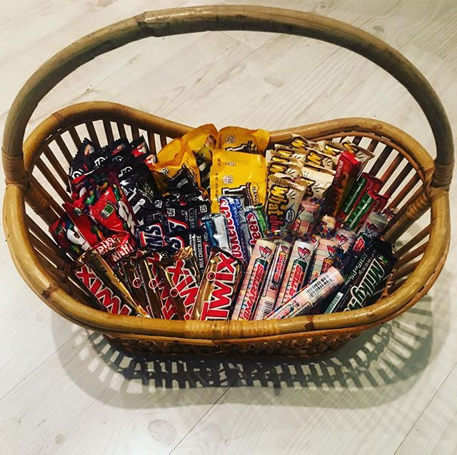 Ladies & Gentlemen I proudly present to you: the stash for tomorrow night. 🧡 I was tasked with providing 1) variety and 2) full size candy. I have to say, I feel like my hunter-gatherer skills were on point tonight. 🧡 Some men want to be known for their fancy cars or their entourage of women. May David Christie be remembered for being a generous Full-Size Halloween Candy Supplier. 🧡 And me? I'm happy to be the wind beneath his wings. #costco #smartandfinal #dollartree #turquoisetable #trickortreat
