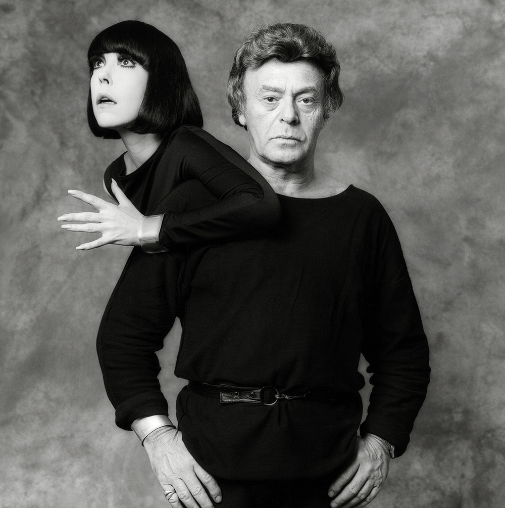 Peggy Moffitt and Rudi Gernreich