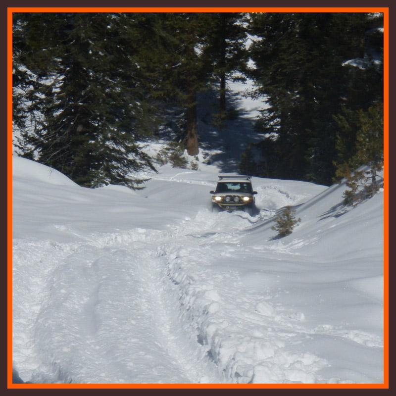 Bald Mountain Snow Run