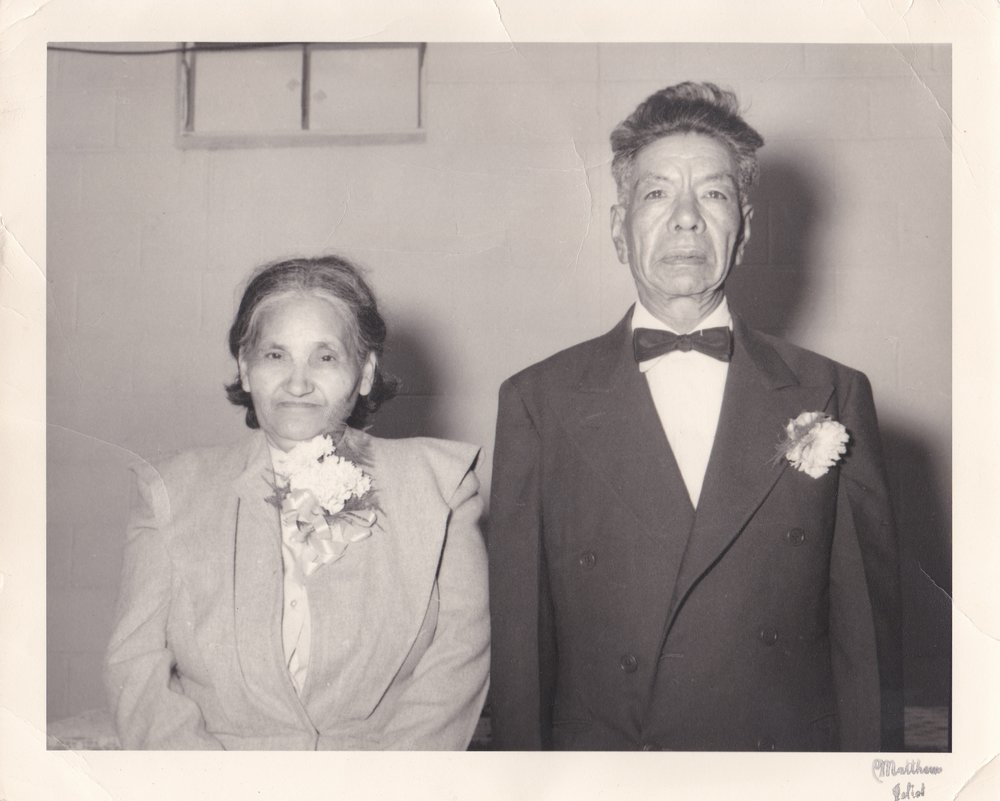 Frank and Lupe Vargas - Aunt Judy's Wedding - June 16, 1962.jpg