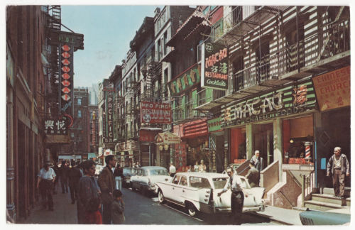 Chinatown in the 1970's