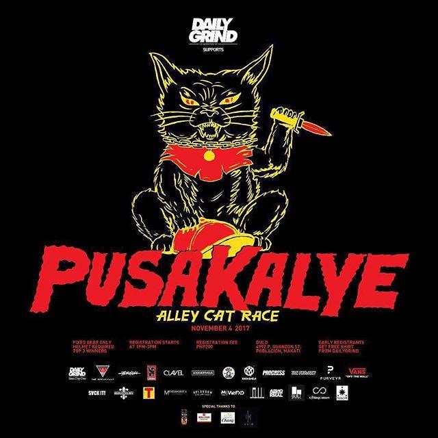 PUSAKALYE ALLEYCAT RACE / CALLE ANNIVERSARY / NOVEMBER 4 / @ DULO MNL