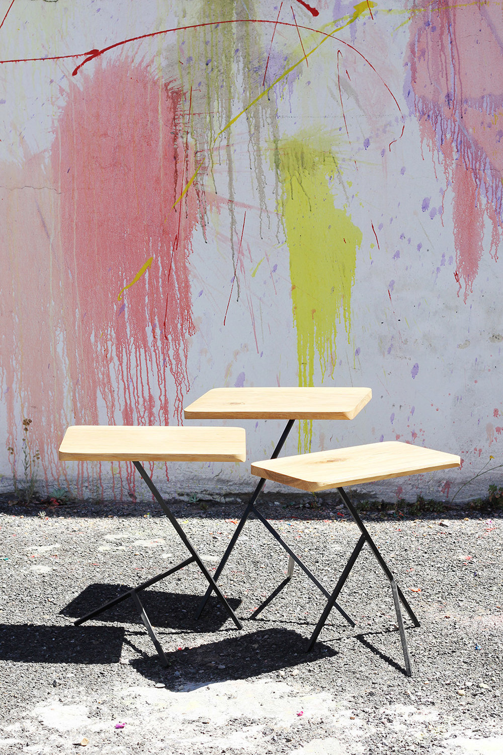 Acacia Nesting Tables by Louw Roets
