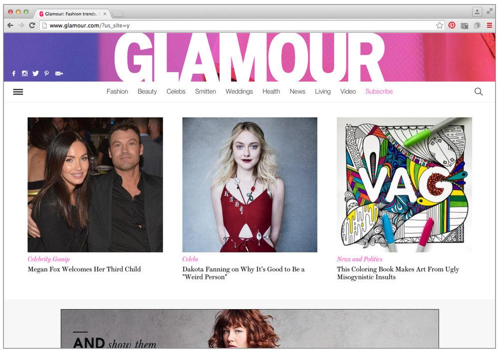 glamourwebsite