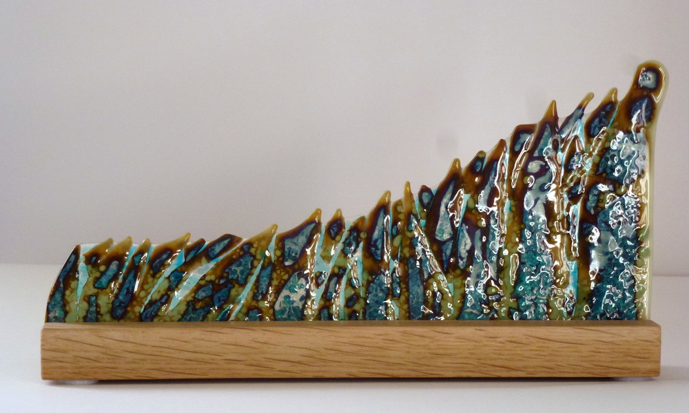 The Unknown – Kiln Fused Glass by Jeanette Cook