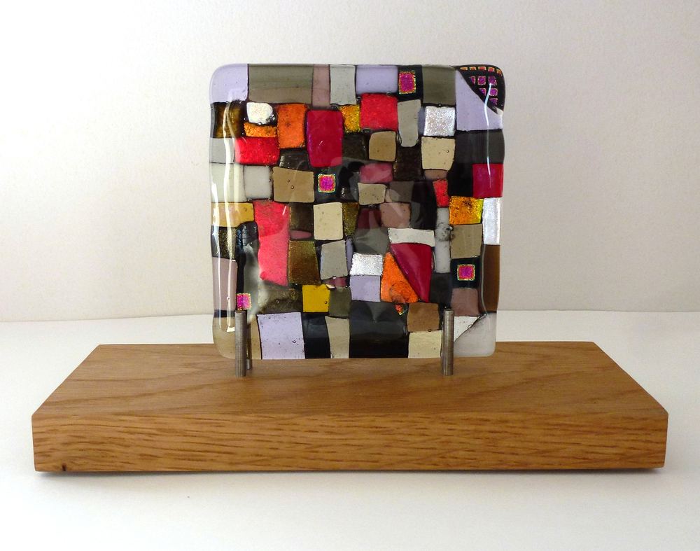 Coming Out – Kiln Fused Glass by Jeanette Cook