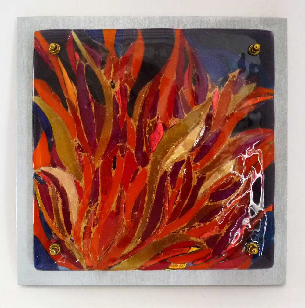 Jeanette Cook Kiln Fused Glass Commission - For Danae