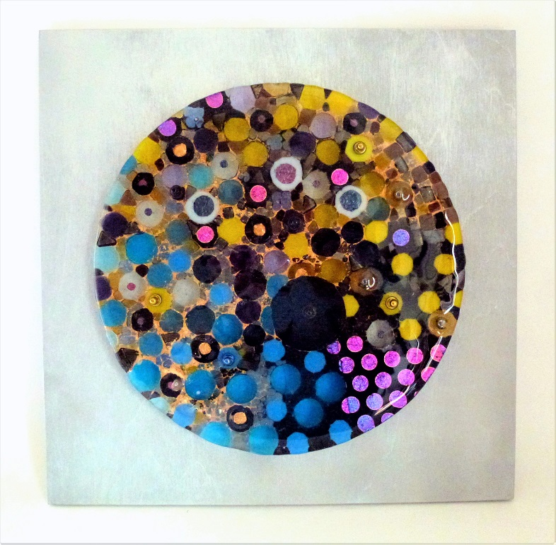 Golden Time – Kiln Fused Glass by Jeanette Cook