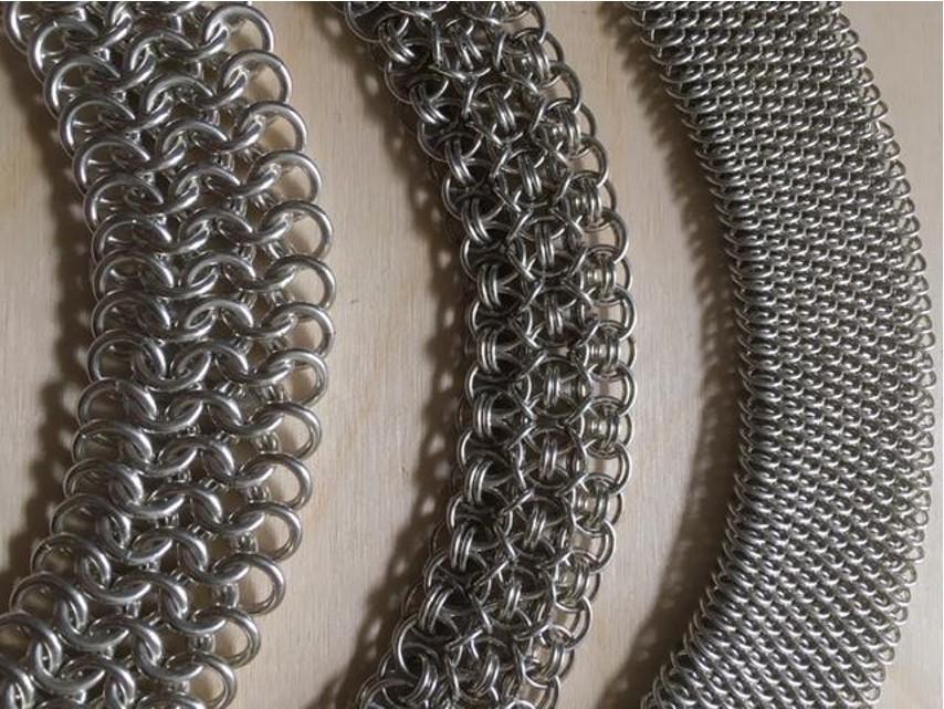 Chainmaille bracelets - Jeanette Cook