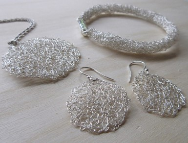 Silver mesh combination - Jeanette Cook