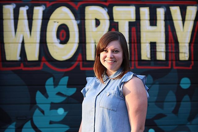 """I feel worthy when I am best serving the people in my neighborhood. From discussing health and equity with my neighbors to giving a passer-by directions, I feel worthy, I have value and I am doing my part for the city I live in."" - Jessica Miller Klein . . 📸 by @j_jmiller in front of @oftenseenrarelyspoken mural.  Contribute your photo and quote by tagging @WorthyofEverything on Instagram and using  #WorthyOfEverything across social media platforms!"