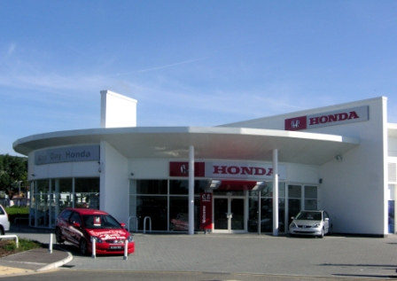 Honda Car Showroom Portsmouth
