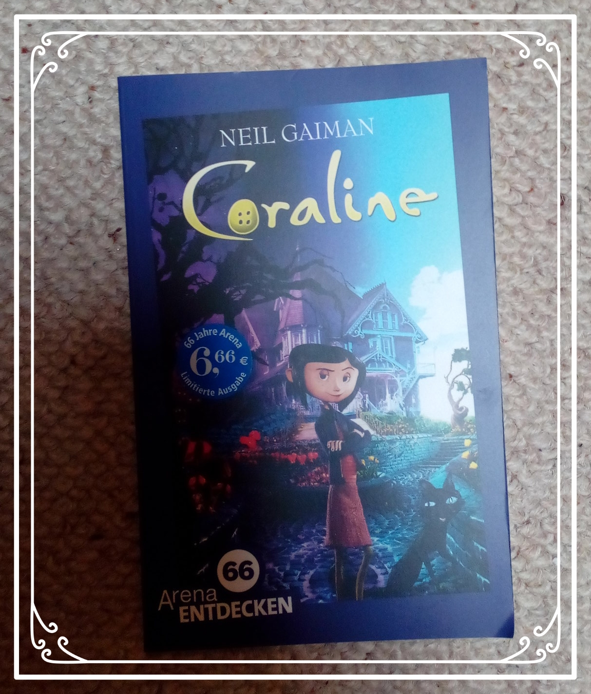 Coraline Book Neil Gaiman