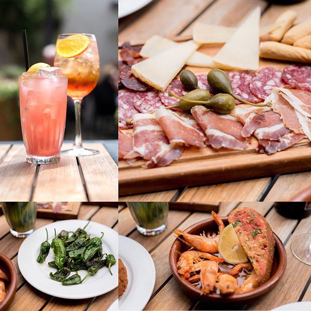 Enjoying the sun? Come in and treat yourself with great selection of tapas and summery drinks. @thegatehousen6 #highgatevillage #beergarden #tapas #aperolspritz #cocktails #food #foodie #foodporn #alfresco #foodblogger #foodspotting #foodstagram #lovefood #booze #foodgasm #foodphotography #foodpics #foodlover #london #londoner