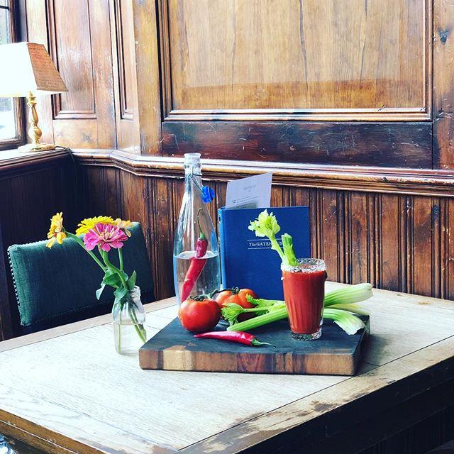 Sunday's at The Gatehouse. #bloodymary #sunday #sundayroast #chillivodka #pubs #foodie #foodporn #food #highgate #highgatevillage #london #londoner