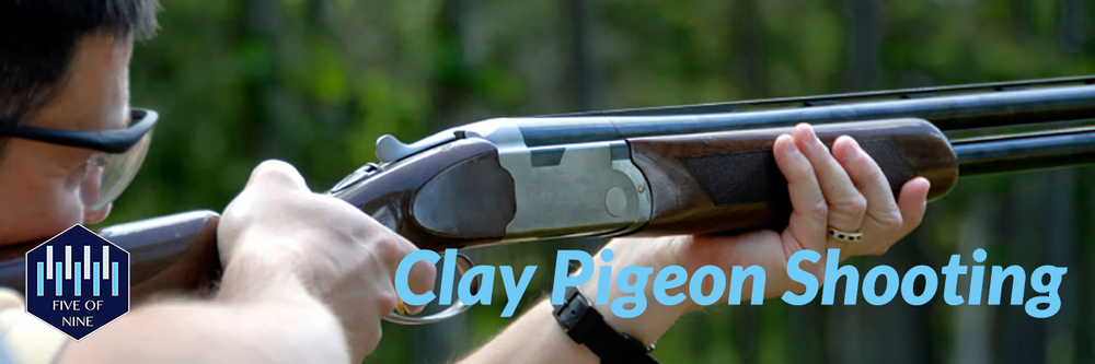 Five of Nine Club - Clay Pigeon Shooting