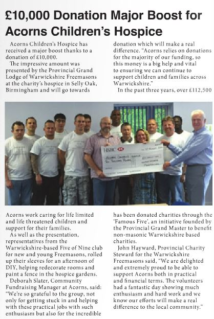 Harborne, Edgbaston & Moseley Life - Page 8 (october 2016).