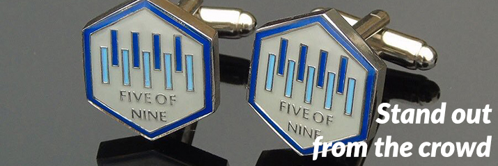 Five of Nine Club - Cufflinks