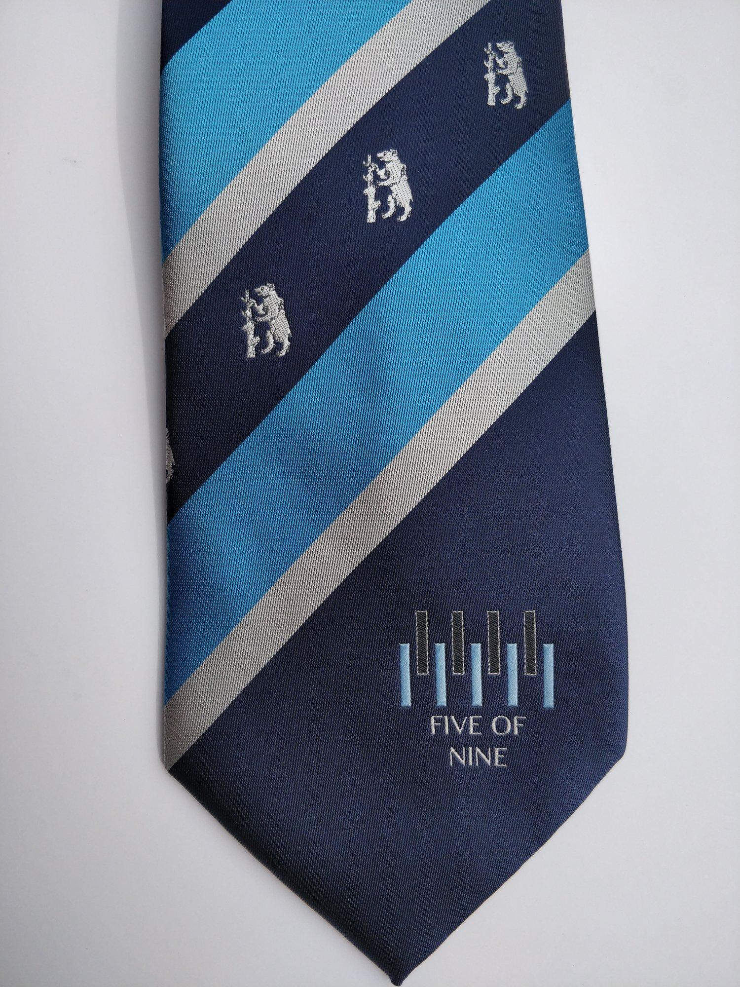 Five of Nine Club - Club Tie