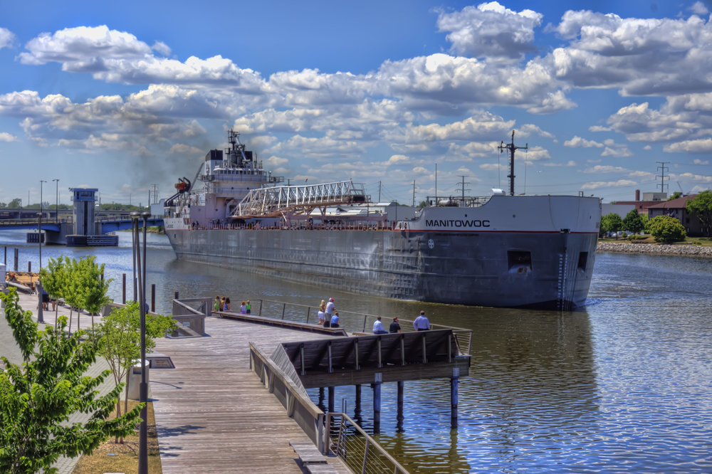 Manitowoc Transported Salt to Fox River Terminal June 2nd