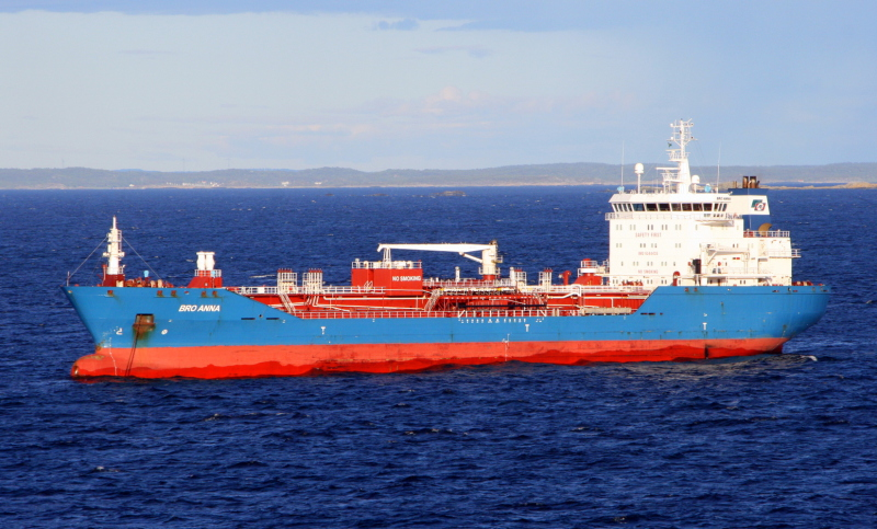 Bro Anna Exported petroleum products from U.S. Oil to Montreal, CA on June 6th