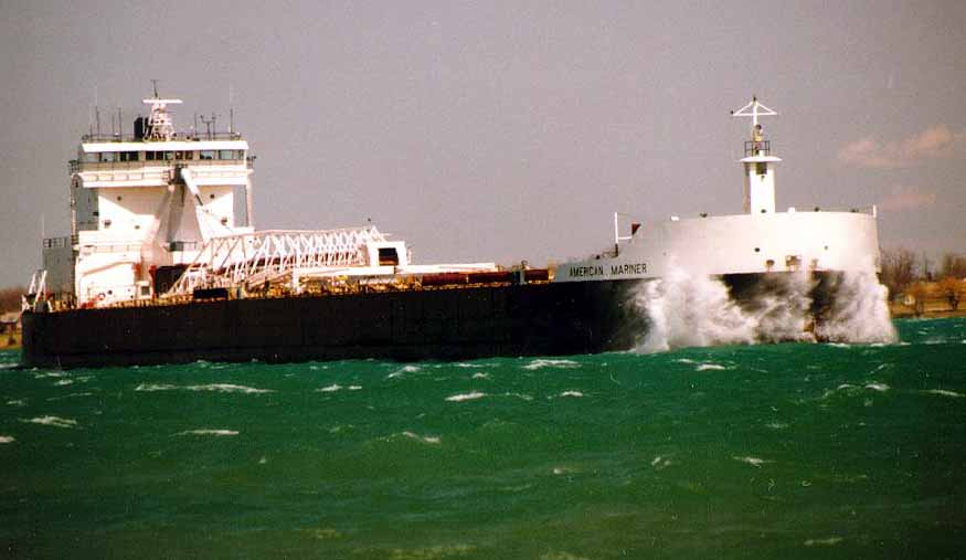 American Mariner Transported limestone to GLC Mineral June 2nd