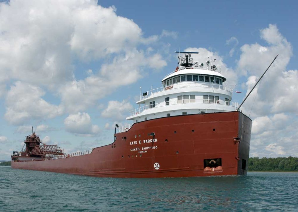 Kaye Barker Transported coal to Fox River Terminal June 25th