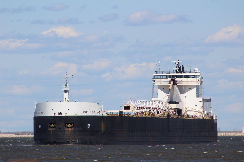 John J Boland Transported coal to Fox River Terminal June 28th