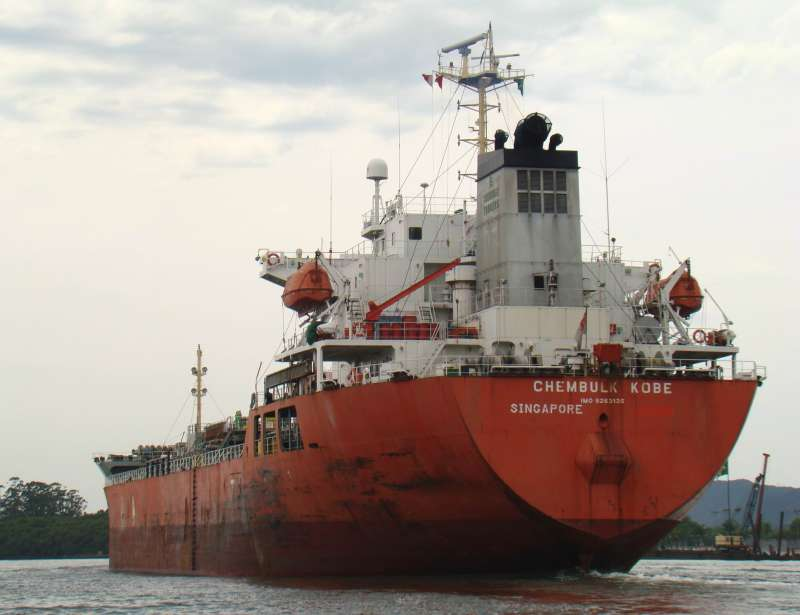 Chembulk Kobe Exported petroleum products from U.S. Oil to Montreal, CA June 29th