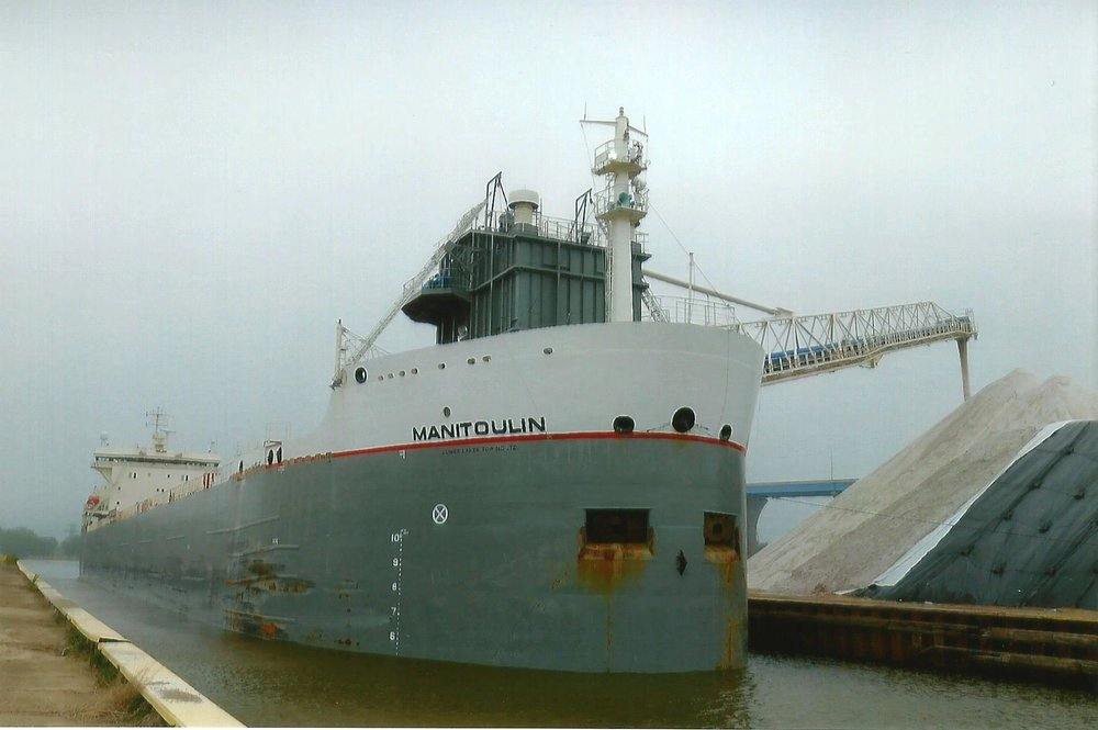Manitoulin Transported salt to Fox River Terminal June 30th