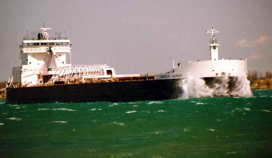 American Mariner Transported coal to C Reiss Coal June 8th