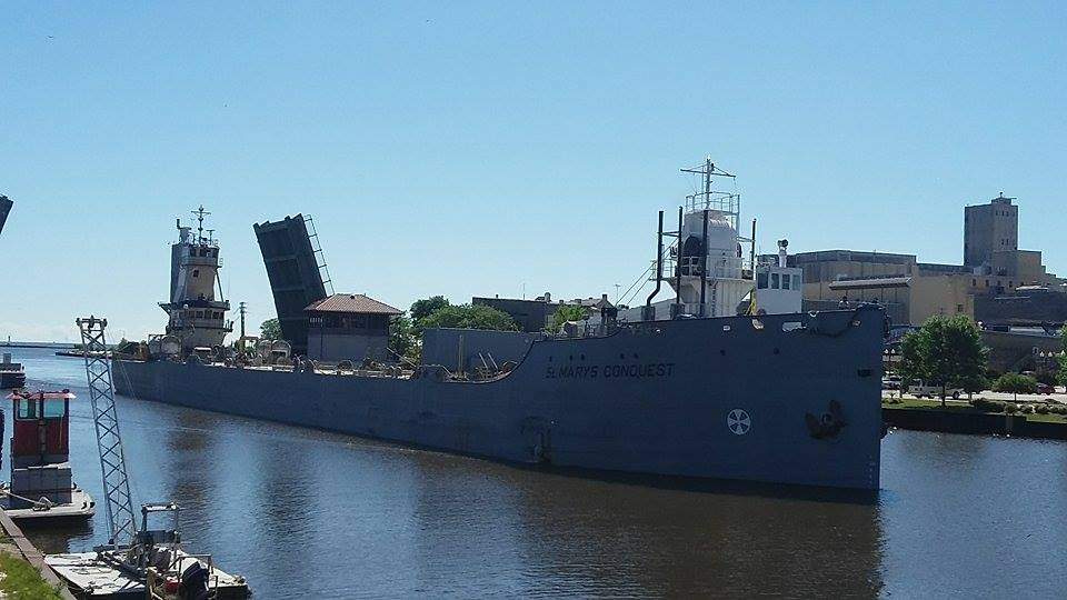 St. Marys Conquest Imported cement to St. Marys Cement from Charlevoix, MI July 11th