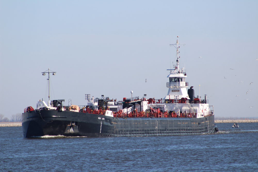 Michigan Great Lakes Imported petroleum products to U.S. Oil from Toldeo, OH July 15th