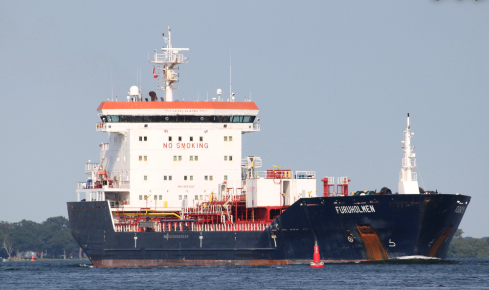 Furuholmen Exported petroleum products to Montreal, CA from U.S. Oil on July 28th