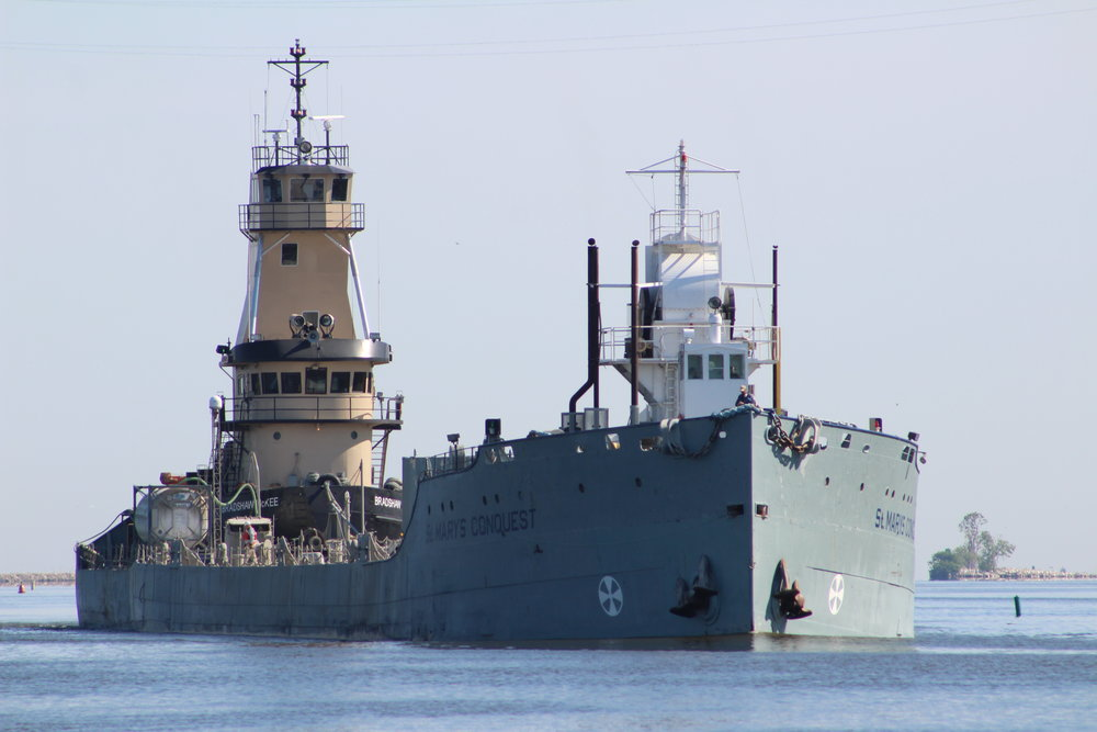8.25.17    St. Marys Conquest Imported cement to St. Marys Conquest from Michigan