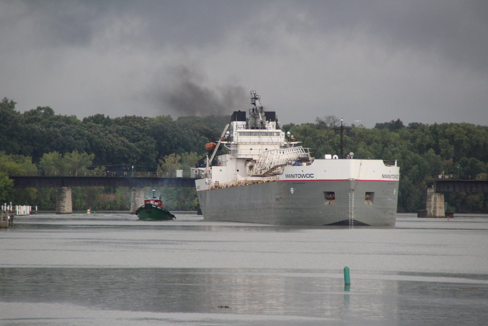 8.30.17    Manitowoc Imported coal to Georgia Pacific from Chicago, IL