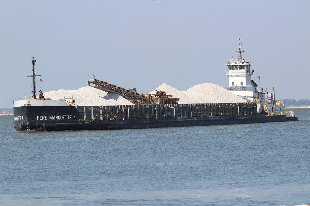 9.14.17      Pere Marquette Imported limestone to GLC Minerals from Michigan
