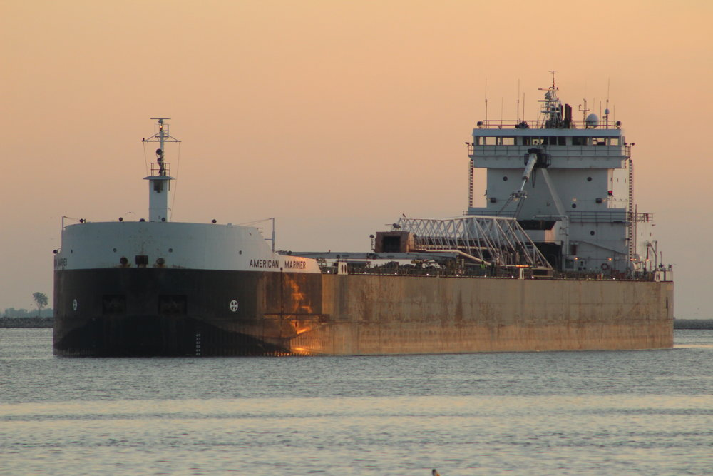9.15.17      American Mariner Imported coal to Fox River Terminal from Ohio