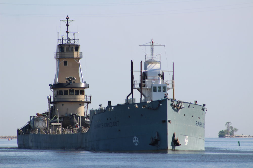 9.16.17      St. Marys Conquest Imported cement to St. Marys Cement from Michigan