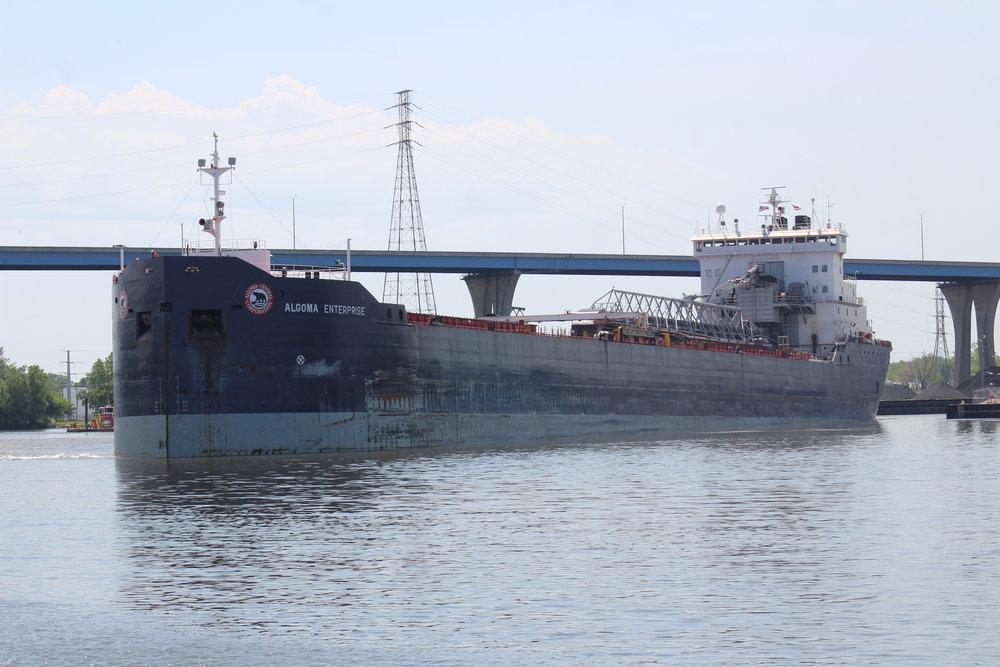 9.19.17      Algoma Enterprise Imported limestone to GLC Minerals from Michigan