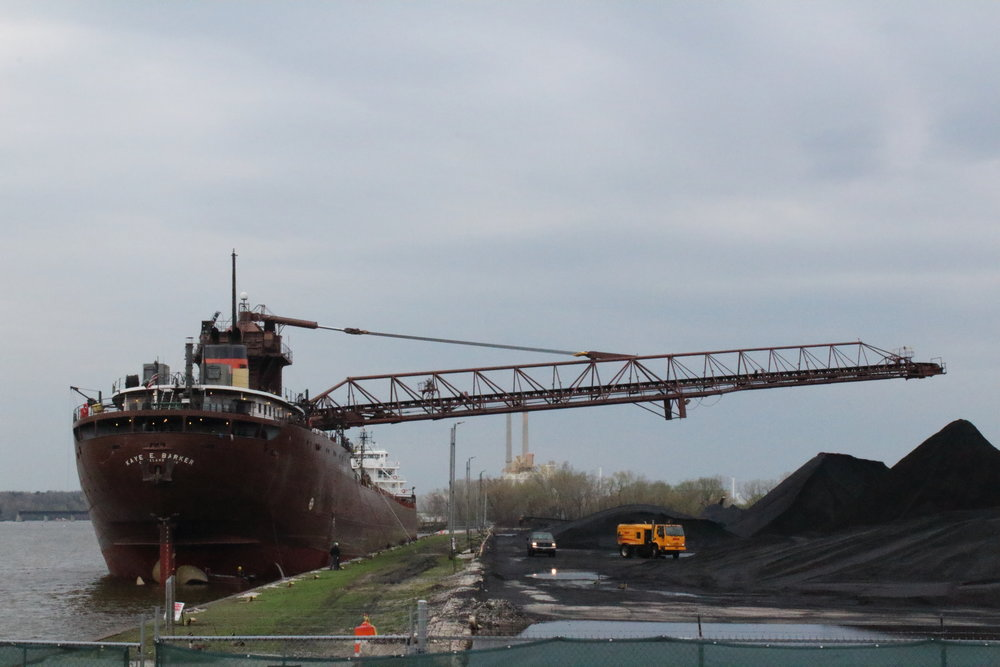 10.8.17      Kaye E Barker Imported coal to C. Reiss Coal Co from Toledo, OH