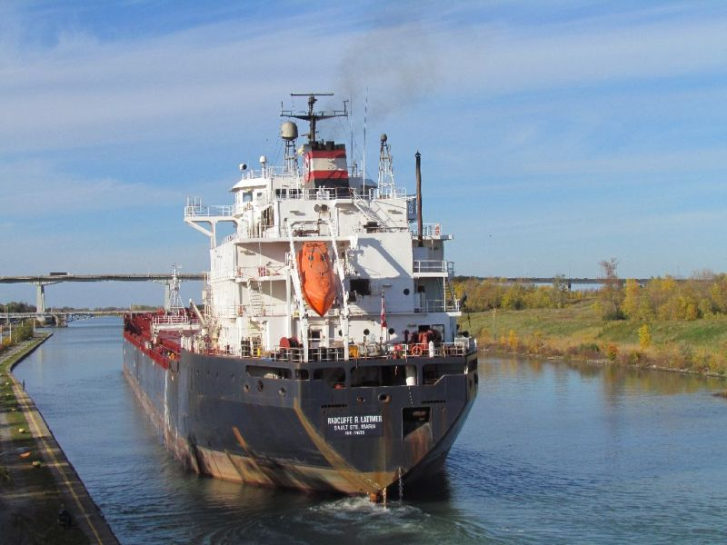 10.25.17      Radcliffe Latimer Imported salt to Fox River Terminal from Goderich