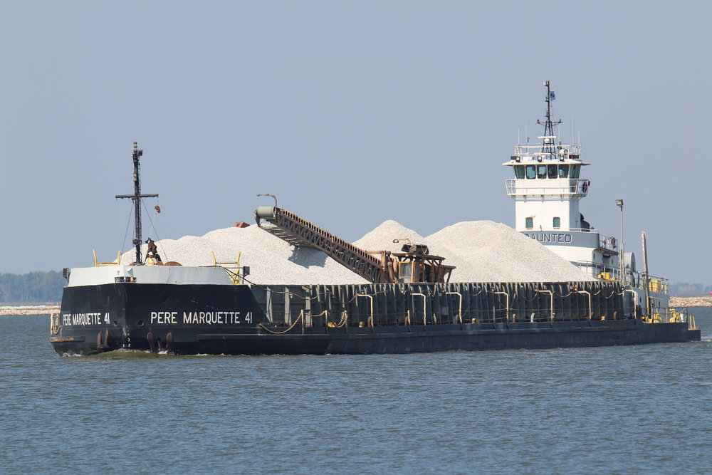 11.28.17    Pere Marquette/Undaunted Exported ash to Marinette from Georgia Pacific